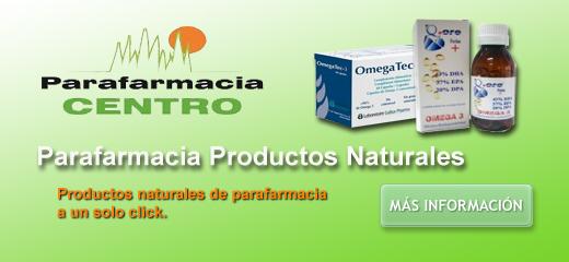 Parafarmacia productos naturales