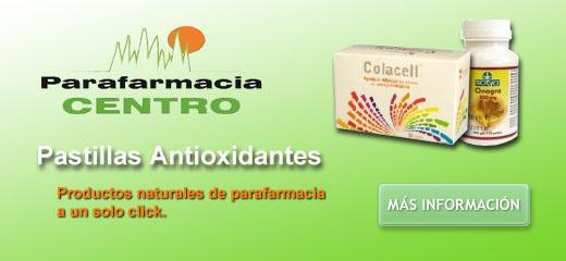 pastillas antioxidantes