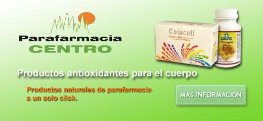 productos antioxidantes para el cuerpo