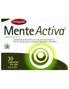 Imagen del producto MENTE ACTIVA 30 caps
