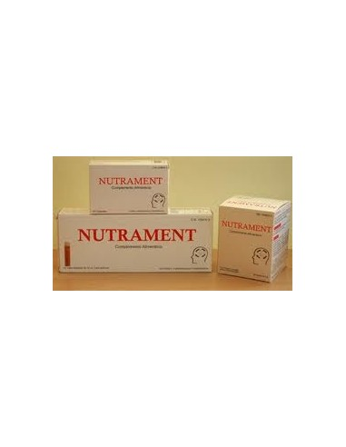 NUTRAMENT 20X10 ml
