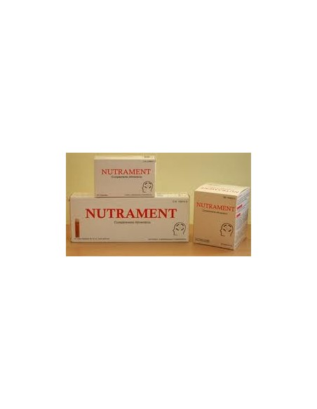 NUTRAMENT 20X10 ml