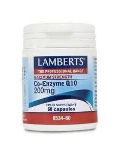 COENZIMA Q10 200mg 60 CAP LAMBERTS