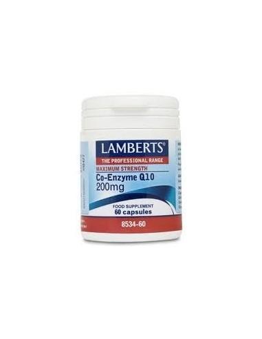 COENZIMA Q10 200mg 60 CAP LAMBERT