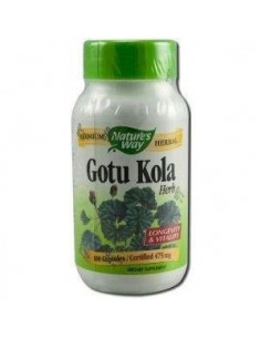 Imagen de producto relacionado: GOTU KOLA 475 mg. 100 caps.