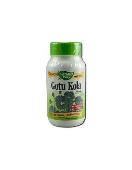 GOTU KOLA 475 mg. 100 caps.