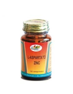 Imagen del producto L-ASPARTATO DE ZINC 100 comp.