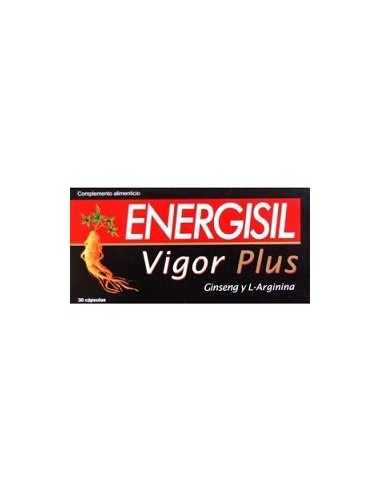 ENERGISIL VIGOR PLUS 30 caps.