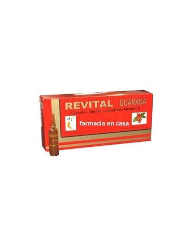 REVITAL GUARANÁ 20 amp.
