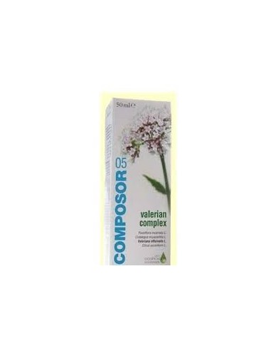 COMPOSOR 5 VALERIANA 50 ml.
