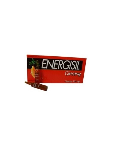 ENERGISIL GINSENG 500 mg 10 ampollas