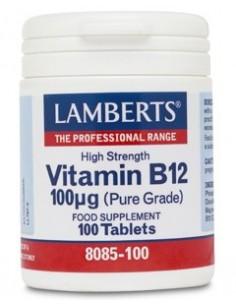 Imagen de producto relacionado: VITAMINA B12 100µg 100 TABL.