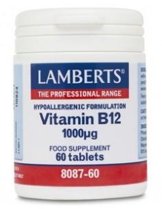 Imagen de producto relacionado: VITAMINA B12 1000µg 60 TABL.