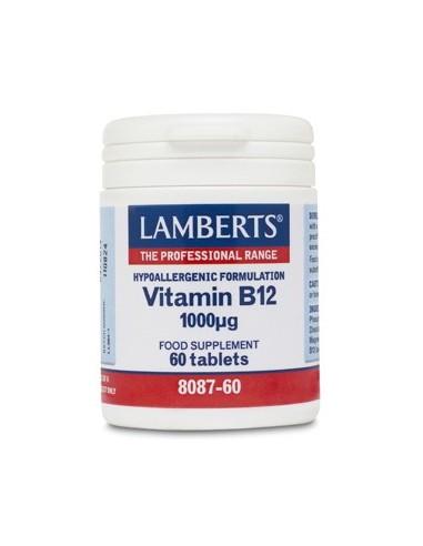 VITAMINA B12 1000µg 60 TABL.