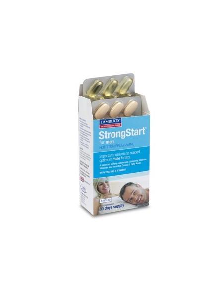 STRONGSTART PARA HOMBRE 30 CAPS