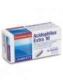 ACIDOPHILUS EXTRA 10 30 Caps Lamberts