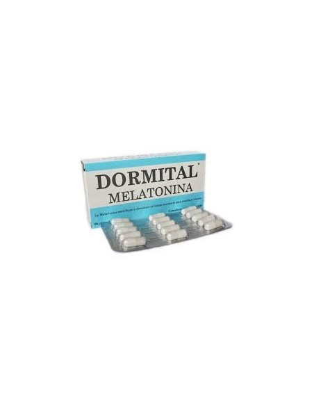DORMITAL MELATONINA 30 CAPS