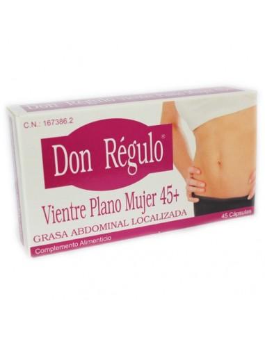 DON RÉGULO VIENTRE PLANO MUJER 45+