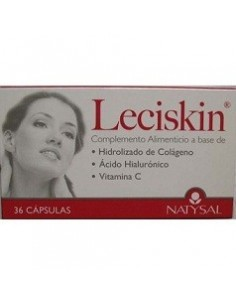 Imagen de producto relacionado: LECISKIN 36 CAPS.
