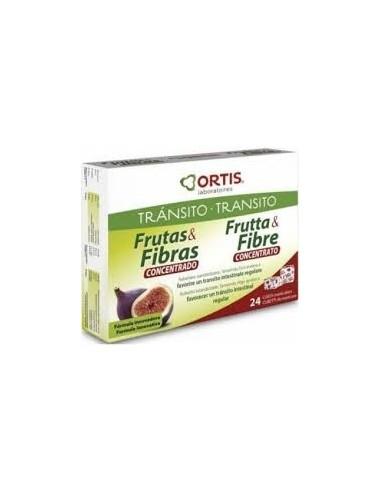 FRUTAS & FIBRA CLÁSICO 24 cubos masticables