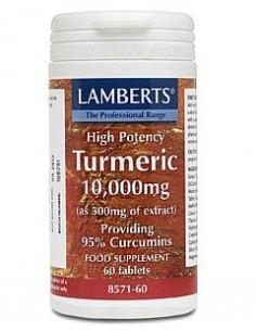 Imagen de producto relacionado: CURCUMA (TURMERIC)10.000 mg 60 tabl.