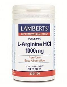 Imagen de producto relacionado: L-ARGININA HCI 1000 mg 90 Tabl.