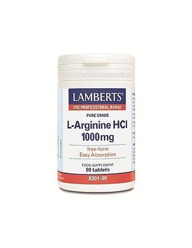 L-ARGININA HCI 1000 mg 90 Tabl.