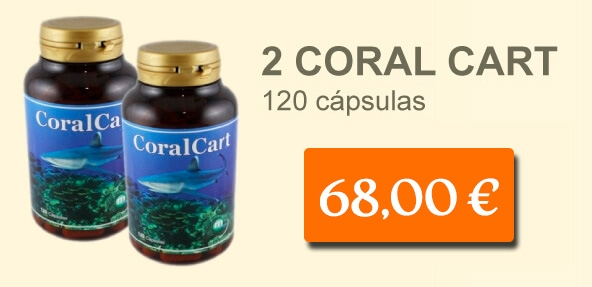 2 Coral Cart 120 cap.
