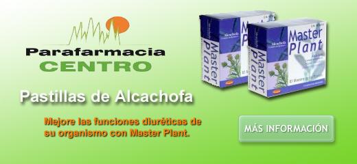 Pastillas alcachofa